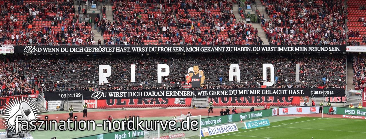 Ruhe In Frieden Adi Ya Basta Das Magazin Nürnberger Fankultur